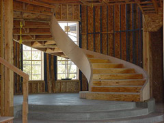 Rough Stair Structures
