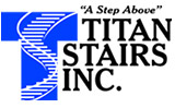 Titan Stairs of Las Vegas logo